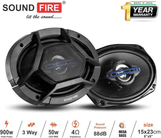 "SOUND FIRE Performance Series SF 6989 3-Way 900W 6""X9"" inch Coaxial Car Speaker"