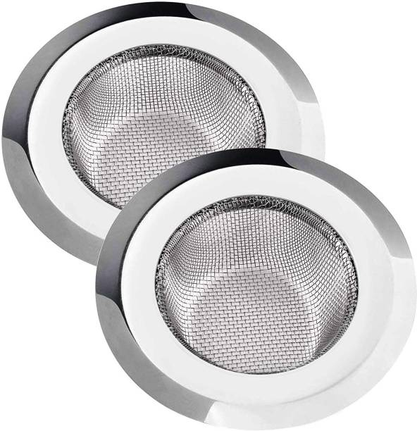Excite Shoppers Steel Basin Strainer 11cm - Pack of 2 Strainer