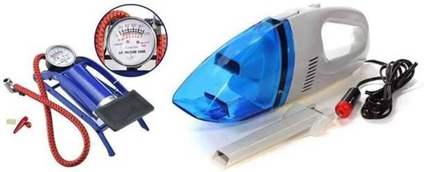 SSTECH 100 psi Tyre Air Pump for Car & Bike