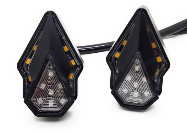 AutoPowerz Side LED Indicator Light for Universal For Bike Universal For Bike
