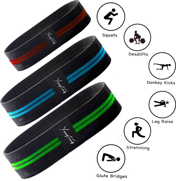 Young Trendz Athlete Body toning Resistance Band Resistance Band