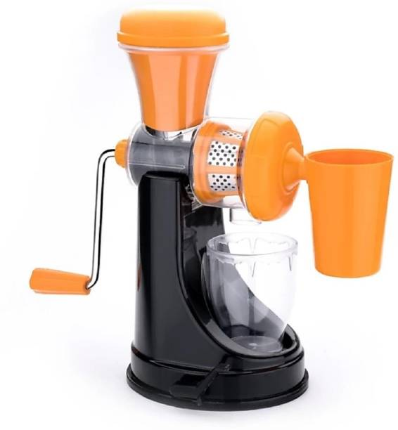 MYYNTI Plastic Hand Juicer Fruits and Vegetable Juicer Machine Orange Juicer for Home Kitchen