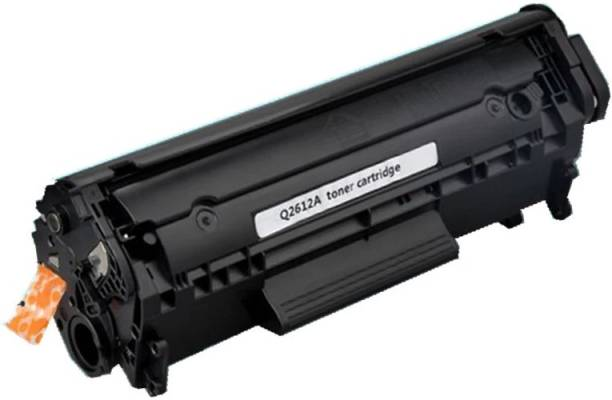 ImageInfo 12A / Q2612A / 2612 / 2612A Premium Toner Cartridge for HP Laserjet Printers 1010 / 1010w / 1012 / 1015 / 1018 / 1020 / 1022 / 1022n / 1022nw / M1005 MFP / M1319f MFP / 3015 AIO / 3020 / 3030 / 3050 / 3050z / 3052 / 3055 Black Ink Toner