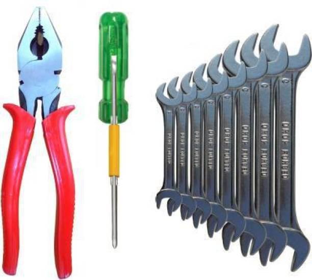 Aaisha Crafts Hand Tool Kit (10 Tools) Hand Tool Kit