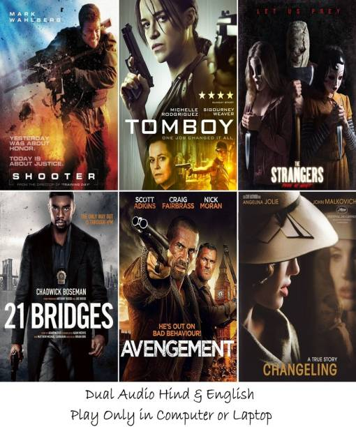Shooter , The Assignment , The Strangers: Prey at Night , 21 Bridges , Avengement , Changeling