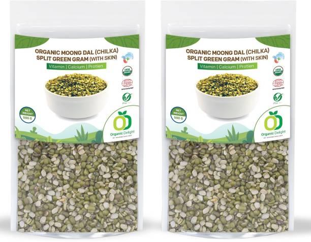 Organic Delight Moong Dal (Split)