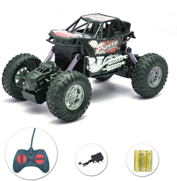 Toyshack Rechargeable Remote Controlled Rock Crawler RC Monster Truck