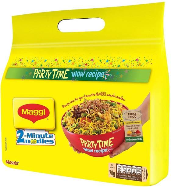 Maggi 2-Minute Instant Noodles - Masala, 560g Instant Noodles Vegetarian