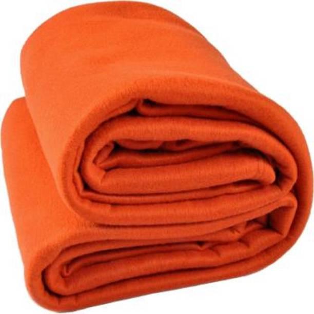 SRCHOME Solid Double Woollen Blanket