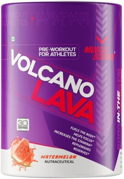 Muscle Science VOLCANO LAVA Ultra Concentrated Pre-Workout Energy Drink