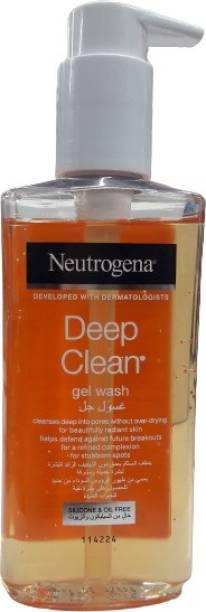 NEUTROGENA Deep Clean Gel Wash  Face Wash