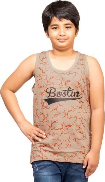 Jingo Vest For Boys Cotton Blend