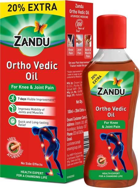 ZANDU Ortho Vedic Oil 100ml + 20% Extra Liquid