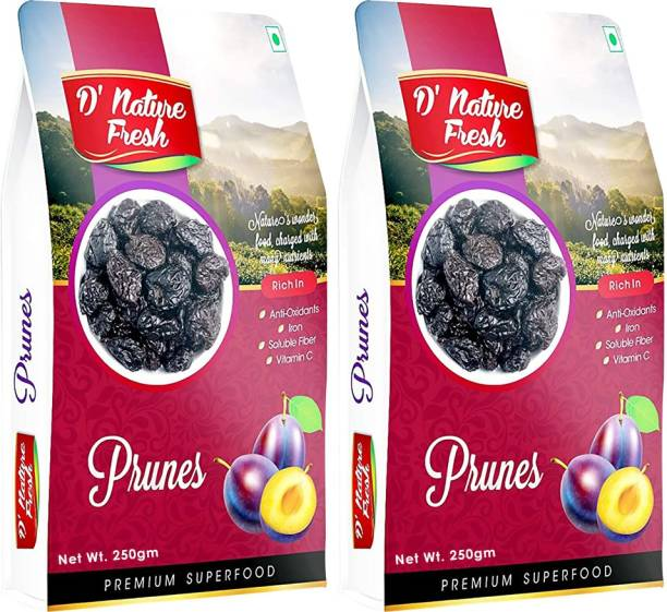 D NATURE FRESH Dried Pitted Prunes