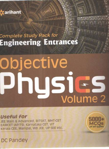 Complete Study Pack For Engineering Entrances Objective Physics Volume 2