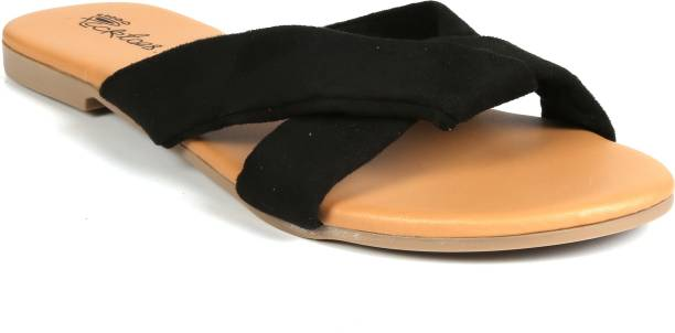 Picktoes Women Black Flats