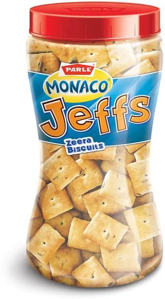 PARLE Manaco Jeffs Zeera Biscuits