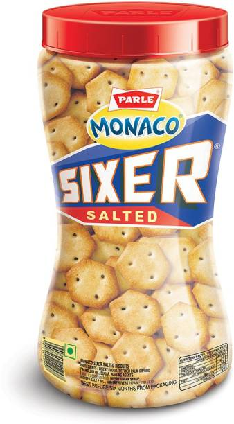 PARLE Monaco Sixer Salted Biscuits