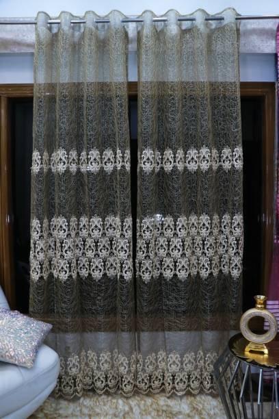 Rainbow Furnishings 275 cm (9 ft) Polyester Door Curtain Single Curtain