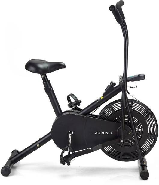 Adrenex by Flipkart AIRBIKE110 Exercise Bicycle with Moving Handles Dual-Action Stationary Exercise Bike