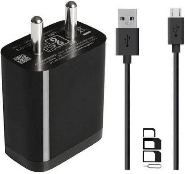 GOLNETIC Wall Charger Accessory Combo for Lenovo Vibe A, Lenovo C2 Power Lenovo C2 Lenovo Phab2 Plus Lenovo Phab2 Lenovo Phab2 Pro Lenovo Vibe C, Lenovo Tab3 10 Lenovo Tab3 8 Lenovo Tab3 7 Lenovo Vibe K5 Plus Lenovo Vibe K5 Lenovo A7000 Turbo, Lenovo Vibe P1 Turbo, Lenovo K5 Note, Lenovo Lemon 3, Lenovo Vibe S1 Lite, Lenovo Vibe K4 Note Charger Original Adapter Like Wall Charger   USB Charger   Mobile Power Adapter   Fast Charger   Android Smartphone Charger   Battery Charger   High Speed Travel Charger With 1 Meter Micro USB Cable   Charging Cable   Data Cable