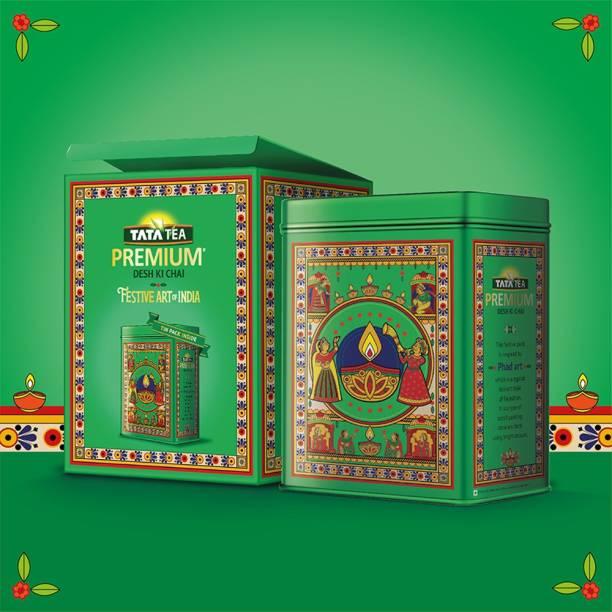 Tata Tea Premium Desh Ki Chai Festive Art of India Tea Tin