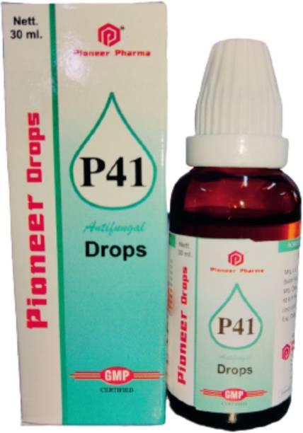 PIONEER HOMOEO P41 Drops For Anti Fungal