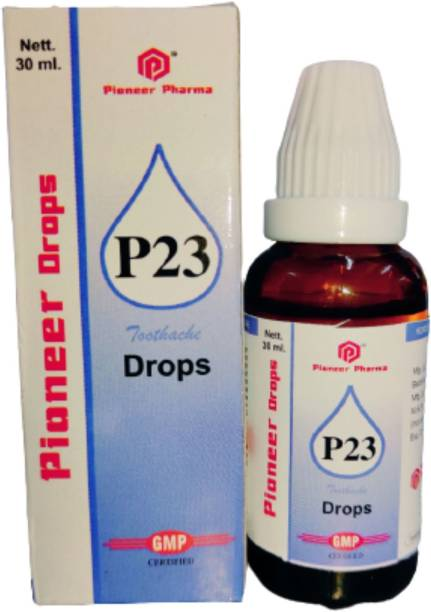 PIONEER HOMOEO P23 Drops For Toothache