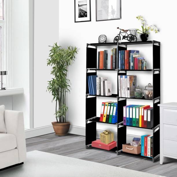 FURIONE Metal Open Book Shelf