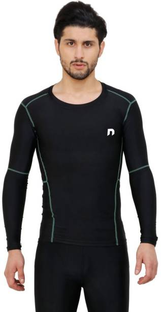 never lose (Ultima) Compression Top Full Sleeve Tights Men's for Sports Men Compression