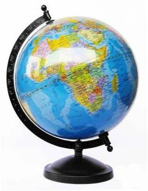 DBBB DESK AND TABLE TOP POLITICAL CARTOGRAPHY World Globe (5 INCH ) Desk & Table Top political World Globe