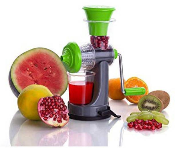VALORANT Plastic Hand Juicer Valorant Plastic Fruit Nano Juicer Juice Making Machine with Steel Handle