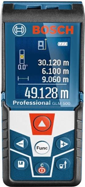BOSCH GLM 500 Laser Distance Meter 50m Range Non-magnetic Engineer's Precision Level