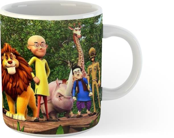 Anzriyaa motu patlu mug Ceramic Coffee Mug