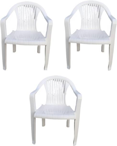 KRISHNA ELECTRONIC Plastic Outdoor Chair
