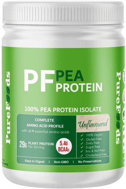 PureFoods PF Pea Protein Unflavoured Plant-Based Protein