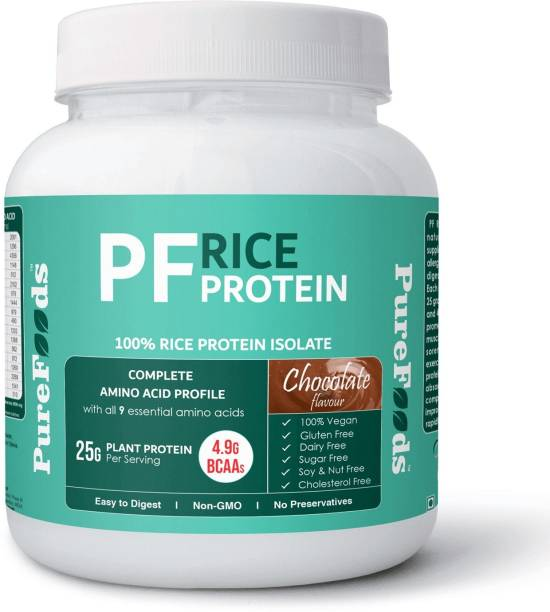 PureFoods PF Rice Protein Chocolate Flavour Plant-Based Protein