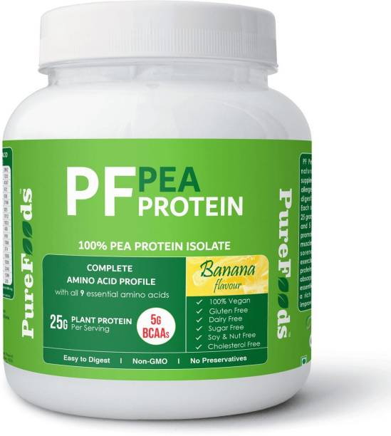 PureFoods PF Pea Protein Banana Flavour Plant-Based Protein