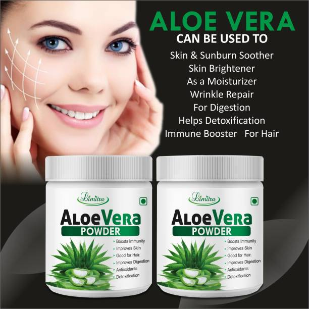 Limitra Aloevera Herbal Powder For Suitable for hair related Problems 100% Ayurvedic