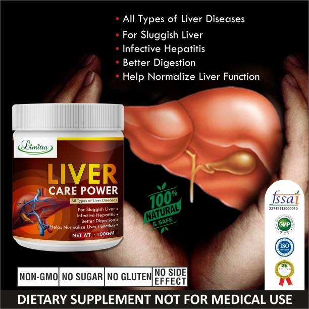 Limitra Liver care herbal powder for Improves liver function 100 Ayurvedic