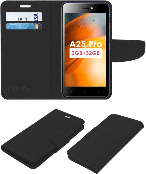 ACM Flip Cover for Itel A25 Pro