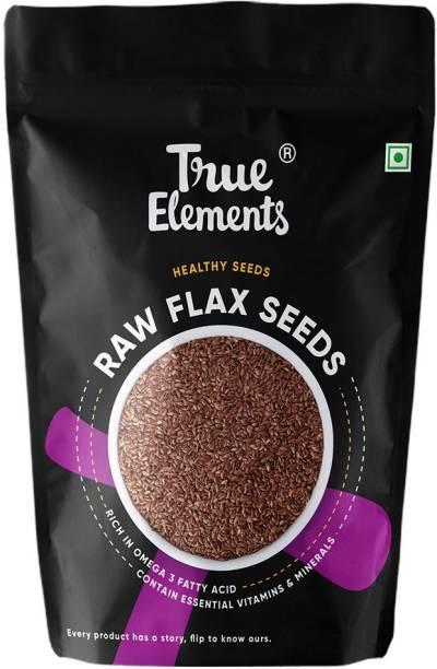 True Elements Raw Flax Seeds, Healthy Seeds, Rich in Omega 3 Fatty Acid