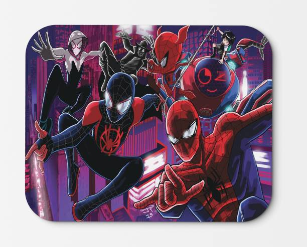 GGWP Spider-Man: Into the Spider-Verse Waterproof 210 X 180 X 3 mm mousepad [MS A15] Non Skid Mousepad