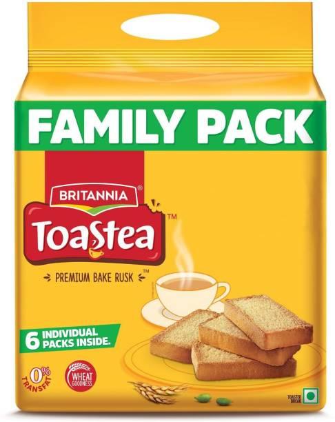 BRITANNIA Toastea NA flavored Sooji Rusk