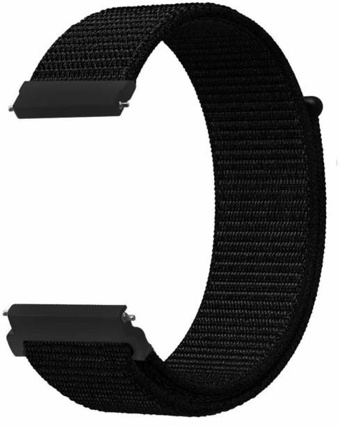 V-TAN Nylon Sport Loop Smart Wrist Strap for Watch 42mm/ Watch Active 40mm/ Gear S2 & Any Smart Watch with 20mm Lugs Smart Watch Strap