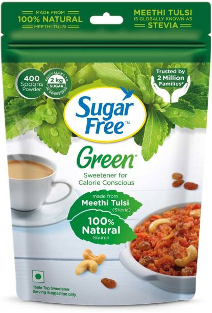 SugarFree Green 100% Natural Made From Stevia Sweetener