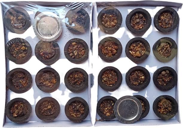 aviraj Natural Pure herbal Guggul / Loban Sambrani Cup Guggul Dhoop