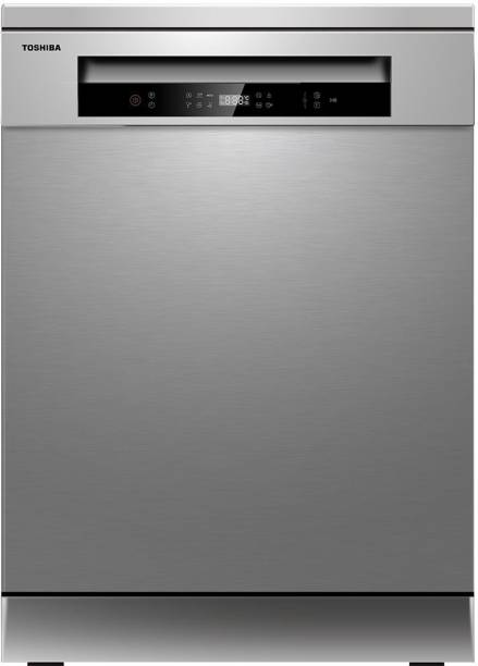 TOSHIBA DW-14F1IN(S)-1 Free Standing 14 Place Settings Dishwasher