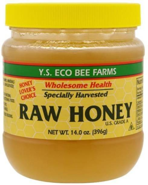 Y.S. Eco Bee Farms Wholesome Health Specially Harvested Raw Honey 14.0 oz