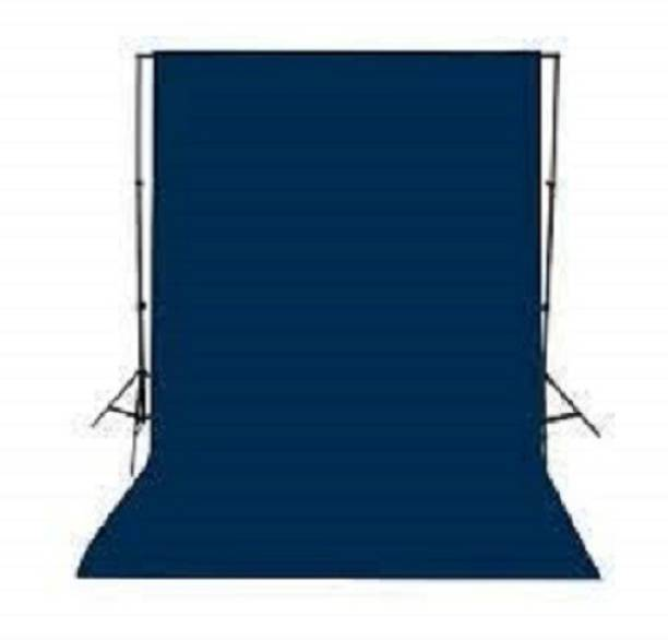 Hanumex 8 x 10.5 FT Navy Blue Color LEKERA Cloth Backdrop Photo Light Studio Photography Background- Color-Navy Blue Reflector